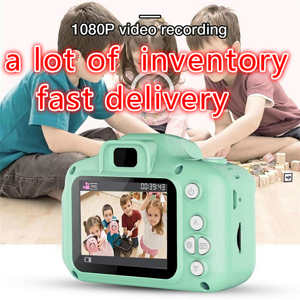 KaKBeir Newest High Quality Kids Digital HD 1080P Video Camera Toys 2.0 Inch Color Display Kids Birthday Toys For Children