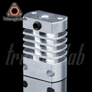 Image 3 - Trianglelab T CR10 Hotend upgrade KIT Alle Metall/PTFE kühlkörper Titan wärme pause für CR 10 CR 10S Ender3 upgrade Kit