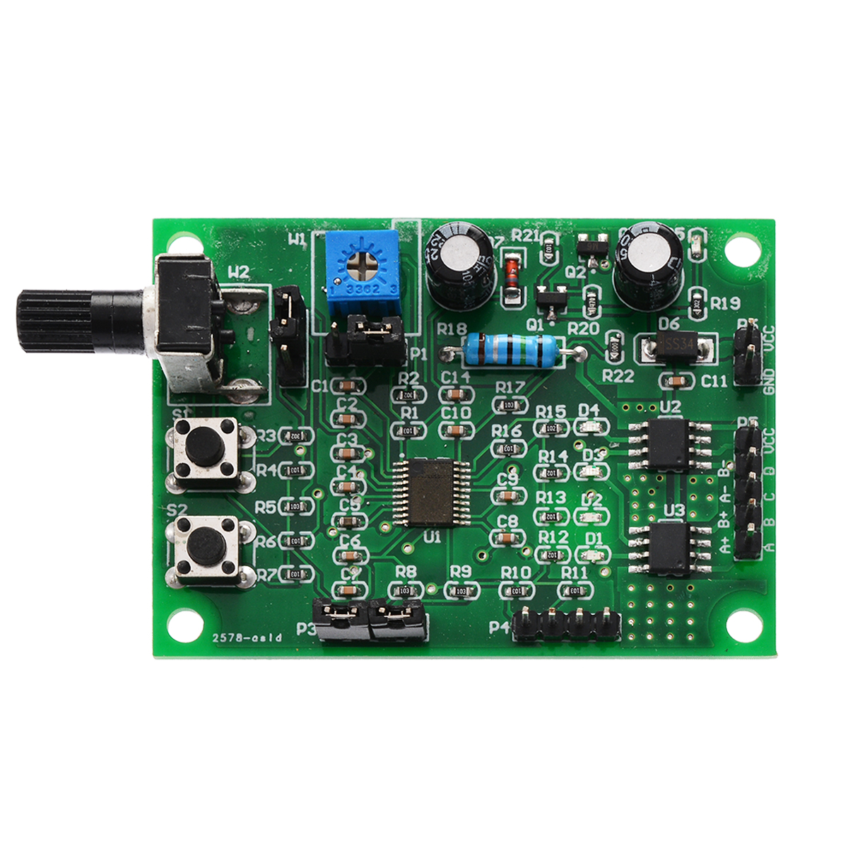 DC 5V-12V 2-Phase 4-Wire Micro Stepper Motor Driver Mini 4-Phase 5-Wire Stepping Motor Speed Controller Module Board DIY