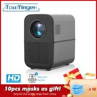 TouYinger светодиодный led проектор T7 Bluetooth, 1280x720 Поддержка Full HD видео проектор для домашнего кинотеатра, 3500 люмен видео медиаплеер