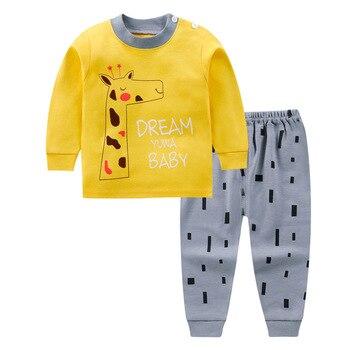 0-24M Baby Clothing Sets Autumn Baby boys Clothes Infant Cotton Girls Clothes 2pcs newborn baby Underwear Kids Clothes Set - 2, 12M