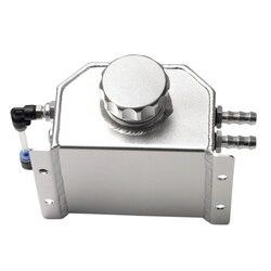 Uniwersalny 1L stopu Aluminium olej silnikowy złapać puszkę odpowietrzający zbiornik  chłodzenie silnika