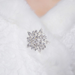 Image 5 - Bridal Shawl Jacket Wedding Wraps White Long Faux Fur Wrap Shrug Bolero Coat  Bridal Gowns PJ012