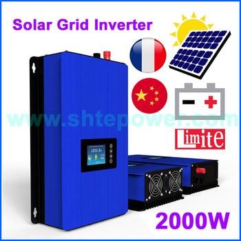 Inversor hibrido de conexión a red Solar 2KW DC 45-90V MPPT AC 2000 V 220V 230V PV, WIFI, medidor/limitador de potencia opcional 1