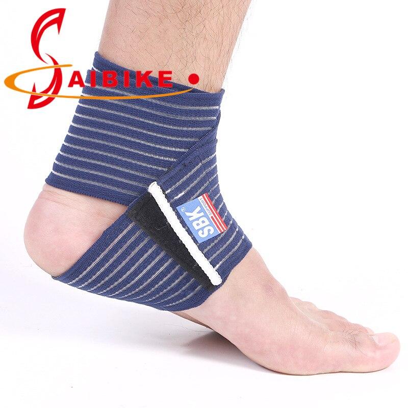 qualidade apoio tornozelo espiralmente ferida bandagem voleibol basquete