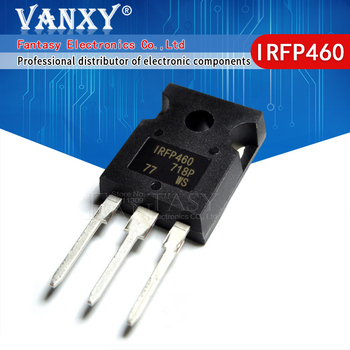 5PCS IRFP460N TO-247 IRFP460NPBF IRFP460 TO247 IRFP460A new and original IC - sale item Active Components