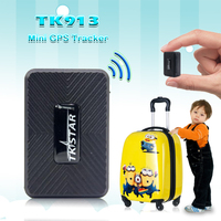 MINI Portable GPS Tracker TK913 1500mAh Powerful Magnet Vehicle Tracking Device TKSTAR Free APP With History Route Playback