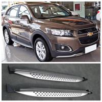 Car Aluminum alloy Running Boards Side Step Bar Pedals Fits For Chevrolet Captiva 2015 2016 2017 2018