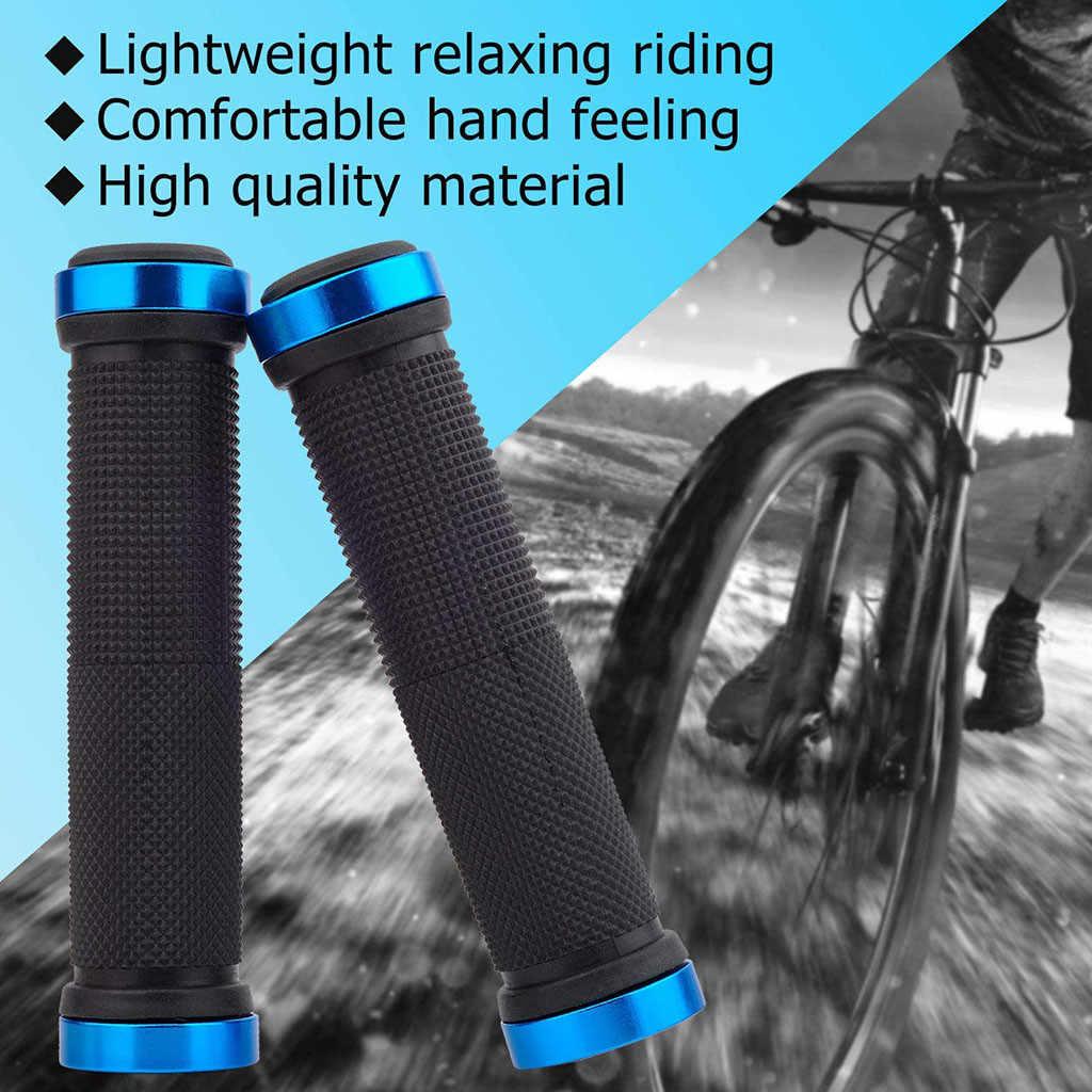 Bike Rubber Grip Cover Anti-slip Handlebar Grip Mountain Bike Riding Accessories