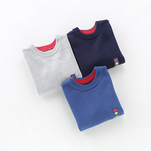 Image 3 - 2020 ילד חדש ילדי בגדי מכוניות דפוס סרוג סוודר תינוק ילד בסוודרים סוודר סריגי 2 5T ילדים ילדים סוודרים