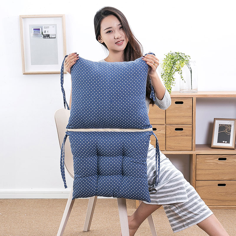 Not Easy To Deform Cojines Decorativos Para Sofa Conjoined Chair Cushion Funny Pillow Students Stool Mat Seat Back Cushion Pad