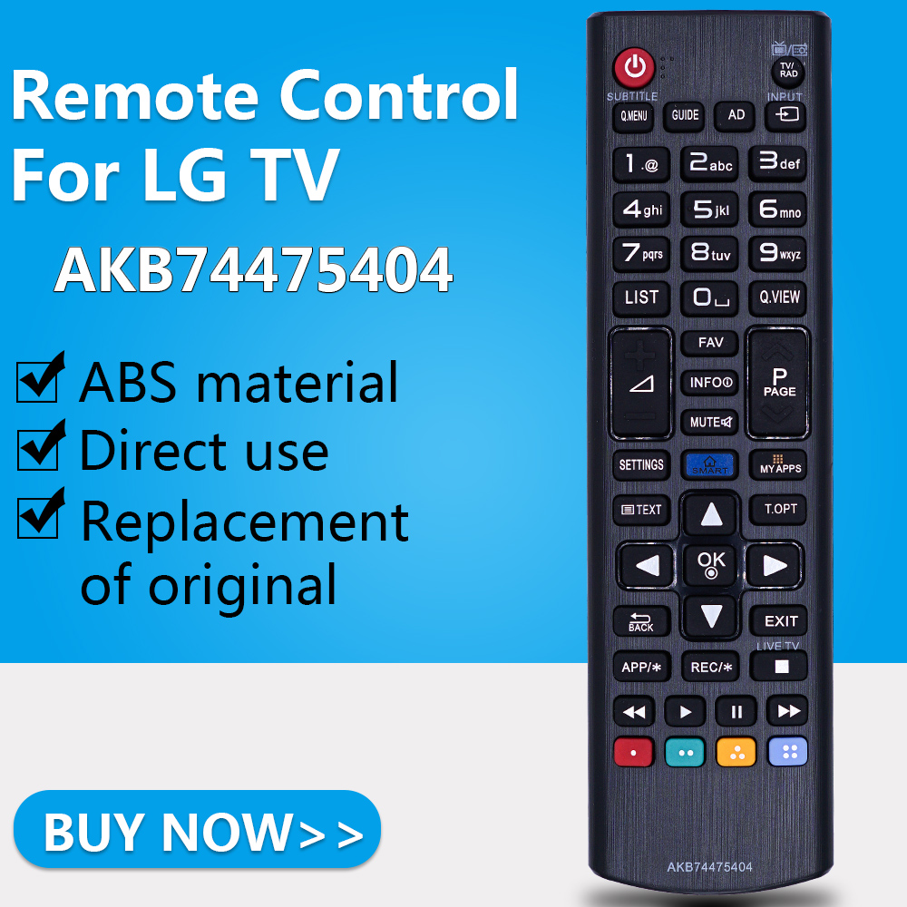 Remote-Control Led-Tv AKB74475404 49UF6407 LG for Akb74475404/50lb582/32lf592u/.. title=