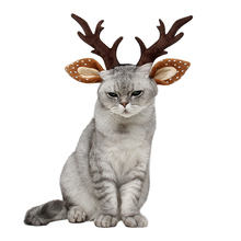 Hat Headdress-Accessories Headwear Dog-Cat-Costume Funny Christmas Party Halloween Photo-Props