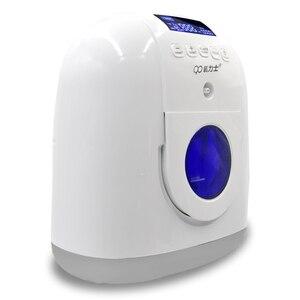 Image 3 - Concentrador médico 110 v do oxigênio do gerador do oxigênio para cuidados de saúde em casa com com fluxo 2 7l/min do nebulizador para 2 pessoas