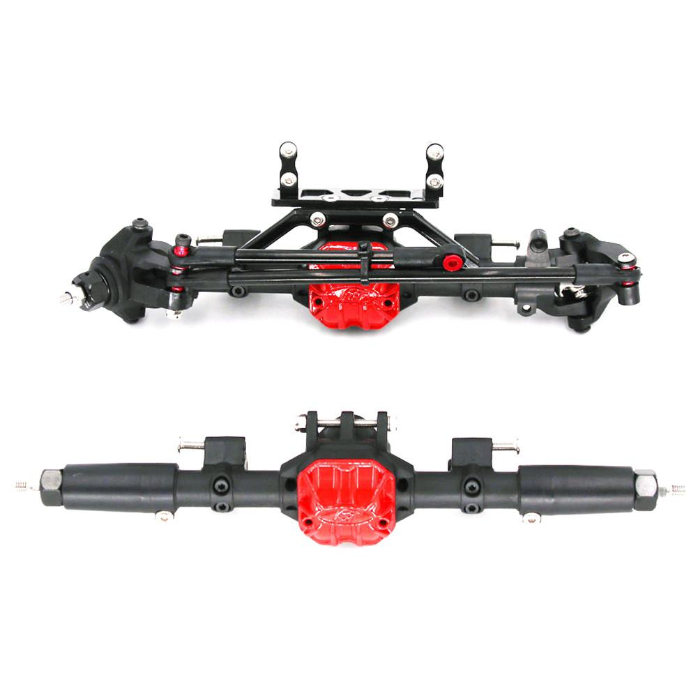 RC Crawler Car Reverse Axle Sets Upgrade Parts For 1/10 Remote Control Axial SCX10-2 Ii Jeep Cherokee 90046/47 4wd D90 Tf2 Truck