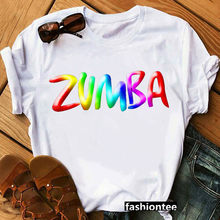 Zumba t-shirt femme, fitness, vêtement femme, amateur de danse, sport gymnastique, hip rock, hauts, graphique