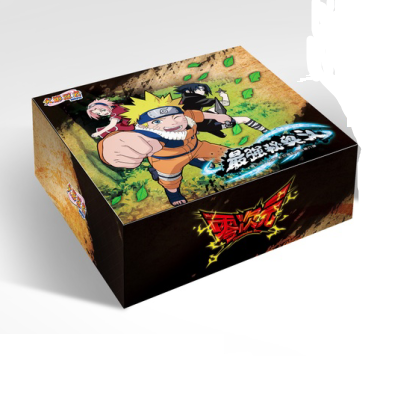 Original Dimension Zero NARUTO 50-210Pcs/Pack TCG Game Cards Table Toys For Family Children Christmas Gift image