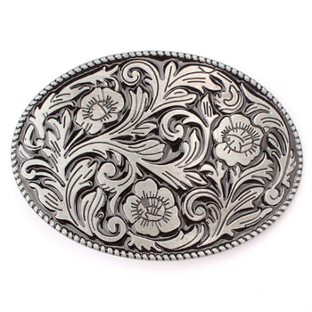 Flowers and plants sunflower belt Buckle for 3.8cm belt DIY Components