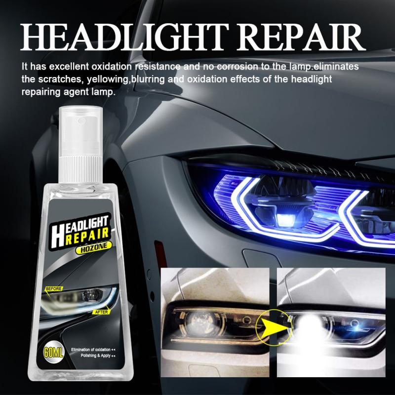 60ml far tamir sıvısı far lehçe araba tamir sıvısı araba far tamir yenileme sıvı araba ışık tamir maddesi