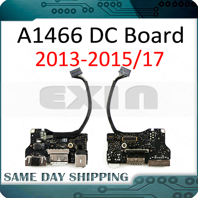 """10Pcs/Lot Genuine Laptop A1466 I/O Audio USB DC IN Jack Board for Macbook Air 13"""" A1466 2013 2014 2015 2017 Year Full Tested!"""