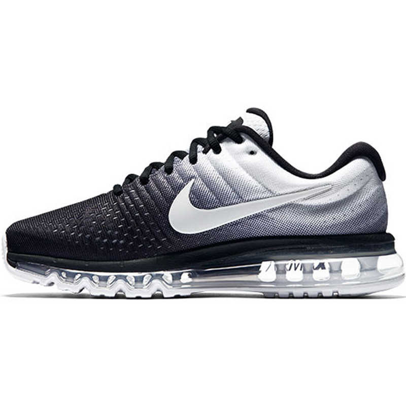 Nike AIR MAX 2017 Men's Running Shoes Gradient Color Sneakers Shock Absorption Durable Sports Outdoor Competition Training849559