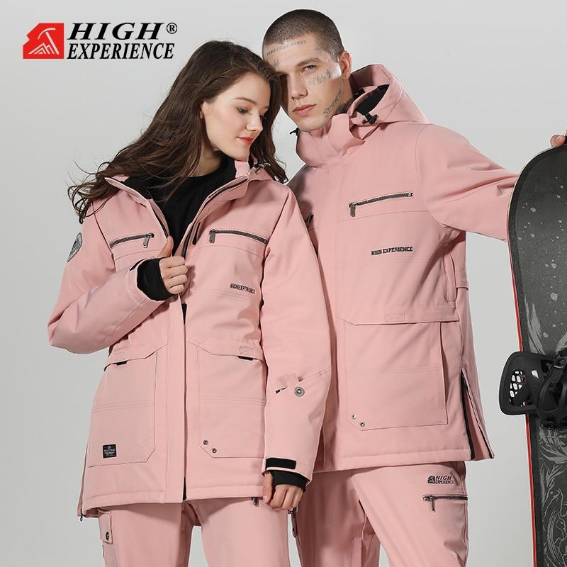 2019 Ski Suit Women Snowboard Suit Men Winter Suit Winter Ski Jacket Snow Pants Snowboarding Sets Thicken Winter Suit Snowsuit