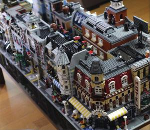Lepinblocks Creator Expert City Street View 15001 15002 15003 15007 15008 15019 15010 Model Building Block Bricks Legoingl Toys