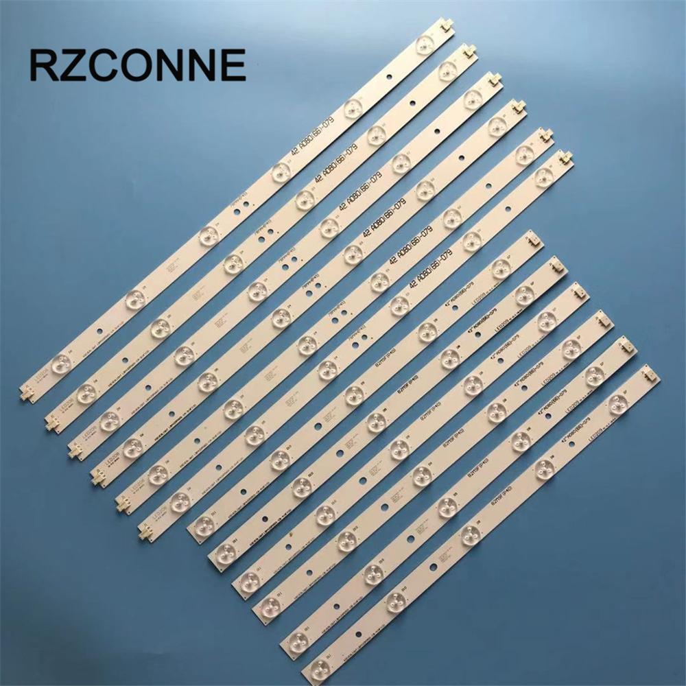 LED Strip For Philips LBM420P0601-CA-3 LBM420P0501-CB-4 42PFL3208H/12 42PFL3008D/78 42PFL3108K/12 42PFL3108H  42PFL3508G