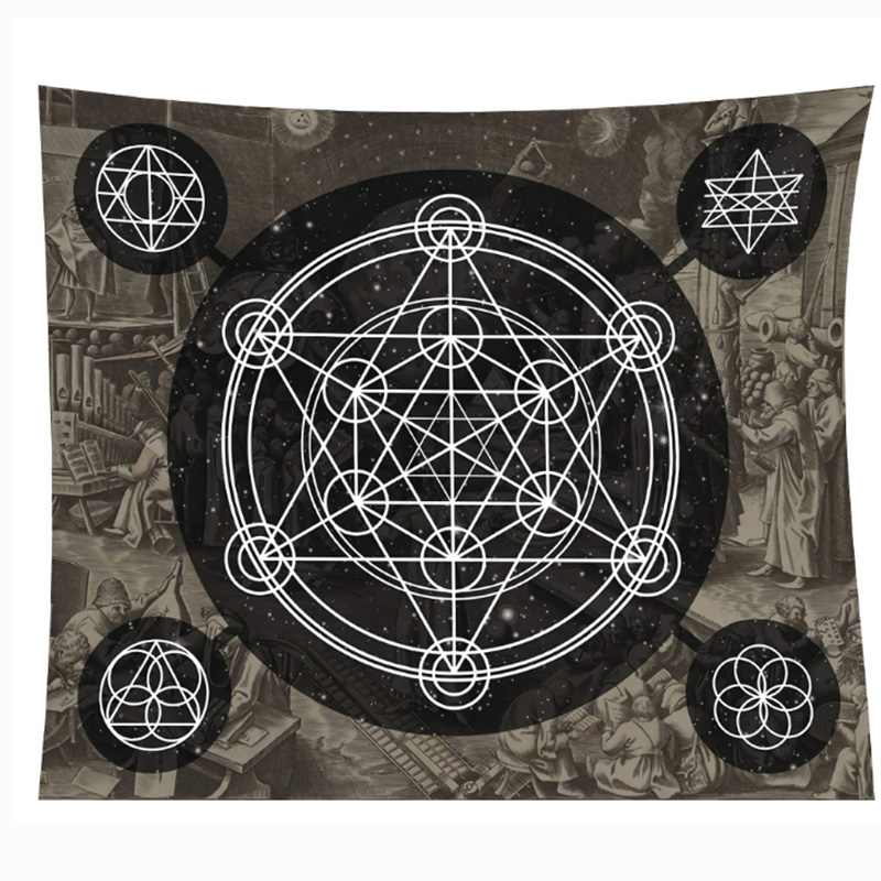 150*100cm Thick Style Tarot Tablecloth Astrology Sofa Cover Tapestry 14 Kinds Beautiful Pattern Game Tarot Board Game Accessorie