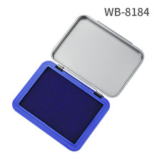 1 pcs Brand New square box Calligraphy Red Ink Paste Chinese Yinni Pad 40g  Red blue black ink paste