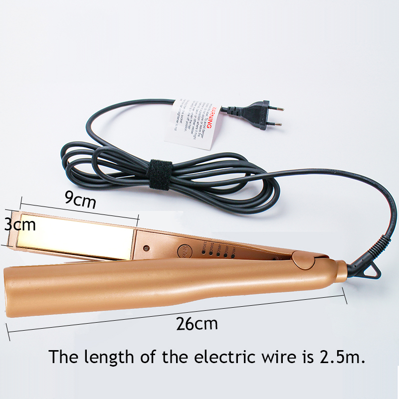 Image 5 - 2 in 1 Twist Hair Curling & Straightening Iron Hair Straightener Hair Curler Curling Iron Wet & Dry Hair Styler Styling Tools-in Curling Irons from Home Appliances