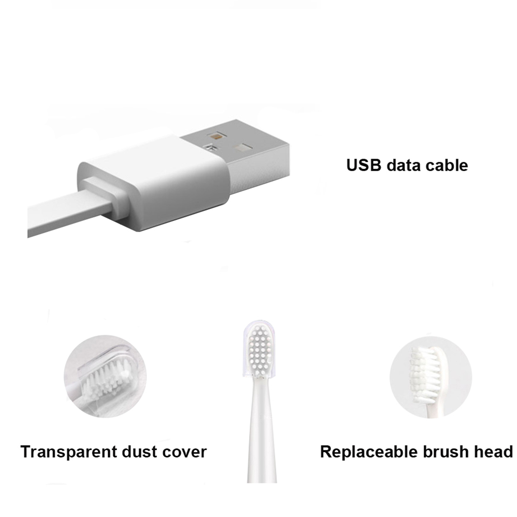 5-mode Electric Toothbrush Home Travel Oral Care Rechargeable Waterproof Electric Tooth Brush Bathroom Supplies