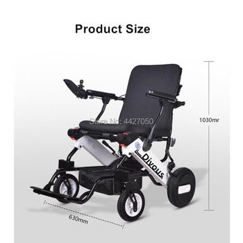 Free shipping 2019 Hot sell protable power lithium battery foldable disable Elderly scooter electric wheelchair