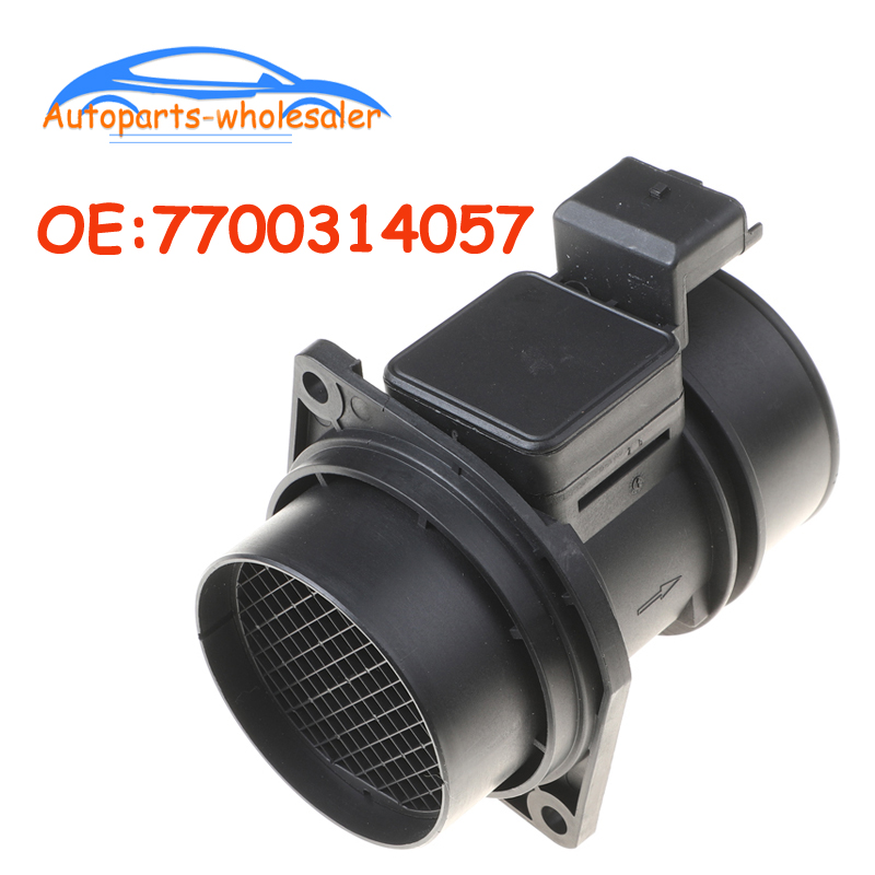 7700314057 7700314669 5WK9609 Mass Air Flow Maf Sensor For <font><b>RENAULT</b></font> <font><b>MASTER</b></font> LAGUNA AVANTIME VEL SATIS ESPACE 1.9 2.0 <font><b>2.2</b></font> 2.5 <font><b>DCI</b></font> image