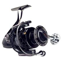 2019 New Full Metal Spinning Fishing Reel With Large Spool Aluminum Body Saltwater Spinning Fishing Reel все цены