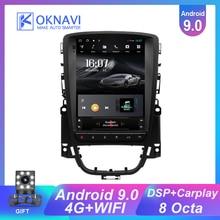 Radio Multimedia con GPS para coche, Radio con navegador, navegador, 2DIN, para Opel, Vauxhall, Astra J, Buick, Verano, 2009-2014, 9,7 pulgadas, Android 9,0
