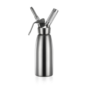 Stainless steel butter gun foamer liquid nitrogen ice cream mounting 500ml  foaming coffee