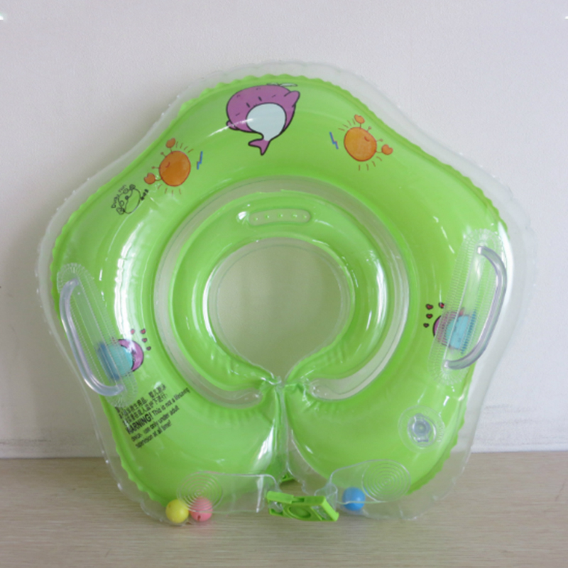 Swimming Baby Accessories Neck Ring Tube Safety Infant Float Circle for Bathing Inflatable Flamingo Inflatable Water 3