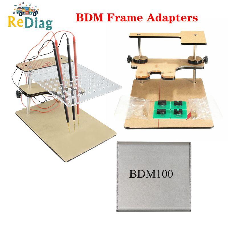 For KESS BDM100 / CMD100 / FGTECH V54 BDM Frame Full Set BDM Frame PRO With Full Adapters Full Sets ECU Proframmer