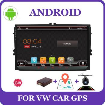 Bosion 9 Android 10 Car DVD GPS Navigation 2 Din For Volkswagen GOLF 4 5 6 POLO PASSAT TIGUAN Wifi+Bluetooth+Radio Autoradio image