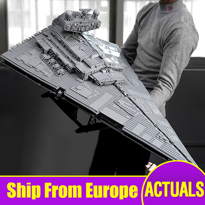 81098 Star Toys Wars Compatible With Legoing 75252 Imperial Star Destroyer Model Kits Building Blocks Kids Christmas Toys Gifts