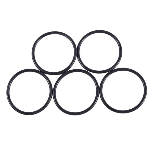 10 Pcs 2.5mm x 68mm Rubber Sealing Oil Filter O Rings Gasket Black