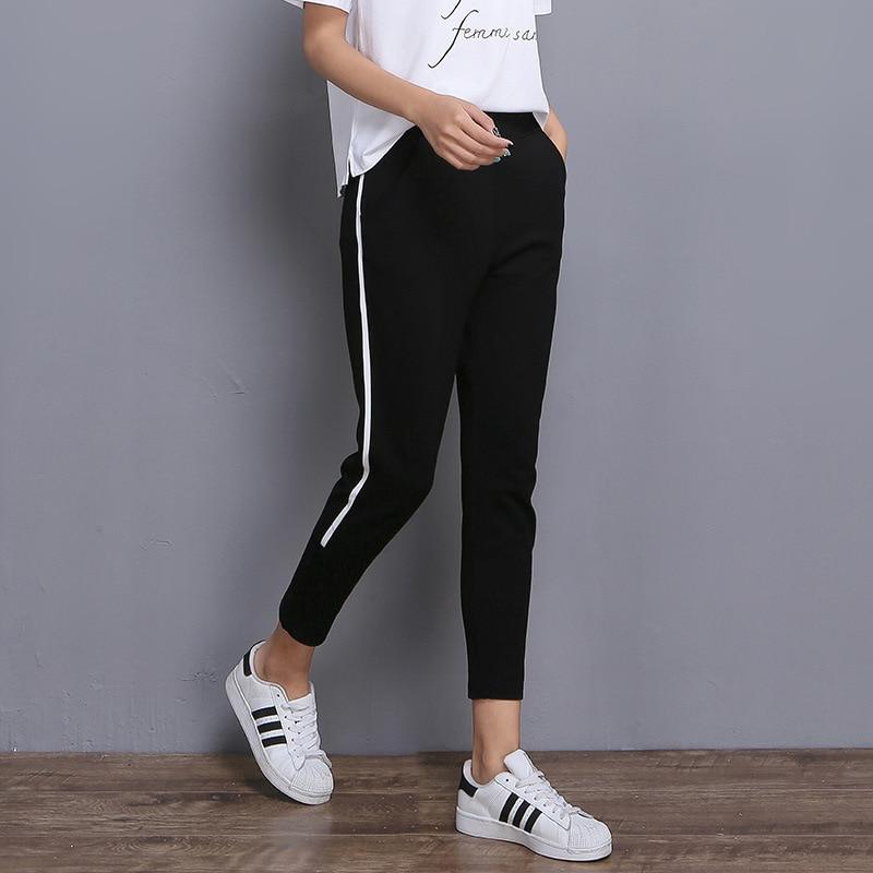 PENERAN Sweatpants Women Sports Pants 2020 Jogging Pants Women Running Sport Track Pants Femme Trousers Black