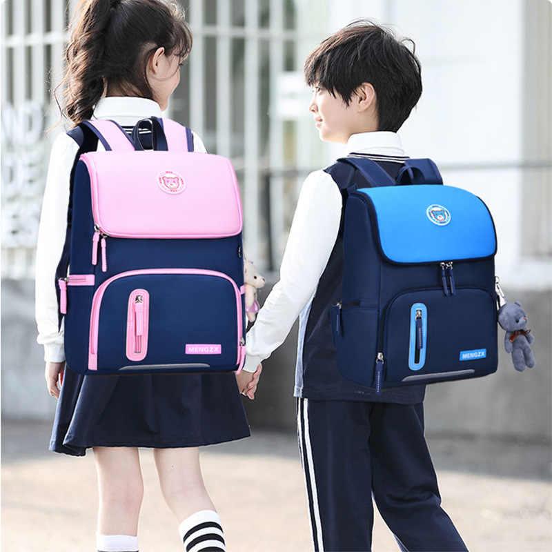 Kinder Schule Taschen Für Mädchen Jungen Orthopädische Rucksack Kinder Rucksäcke schulranzen Grundschule rucksack Kinder Satchel mo