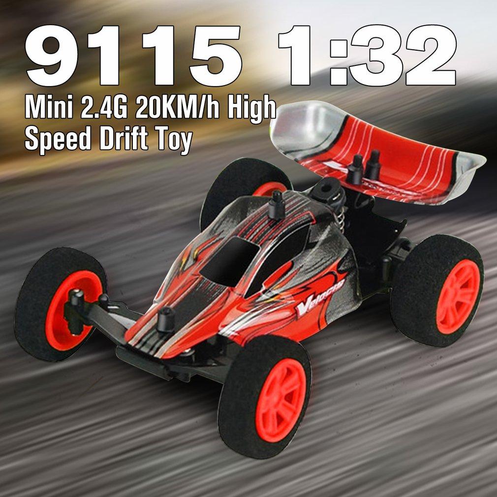 Jouets électriques de voiture chaude RC ZG9115 1:32 Mini 2.4G 4WD haute vitesse 20 KM/h dérive jouet télécommande RC voiture jouets opération de décollage 2