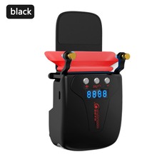 Vacuum Portable Notebook Laptop Cooler Fan USB Air External Extracting Cooling Fan Digital Display Speed Adjustable Cooler Pad mini portable vacuum usb laptop cooler air extracting exhaust lcd temperature display cooling fan cpu cooler for notebook laptop
