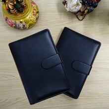купить 2020 Planner Folder Padfolio A6 Notebook 2020 agenda Pen Bag Color Stickers Ruler Gift Set дешево