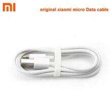 Xiaomi Cable Micro USB para teléfono móvil, Cable de datos Original de carga rápida de 1m para Samsung HTC HUAWEI Xiaomi