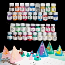 Mica-Powder Pigment Crafts Epoxy Pearlescent Resin 38-Color DIY Jewelry Making-Accessories