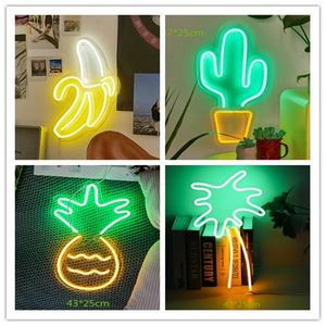 LED Neon Wall Sign Lights for